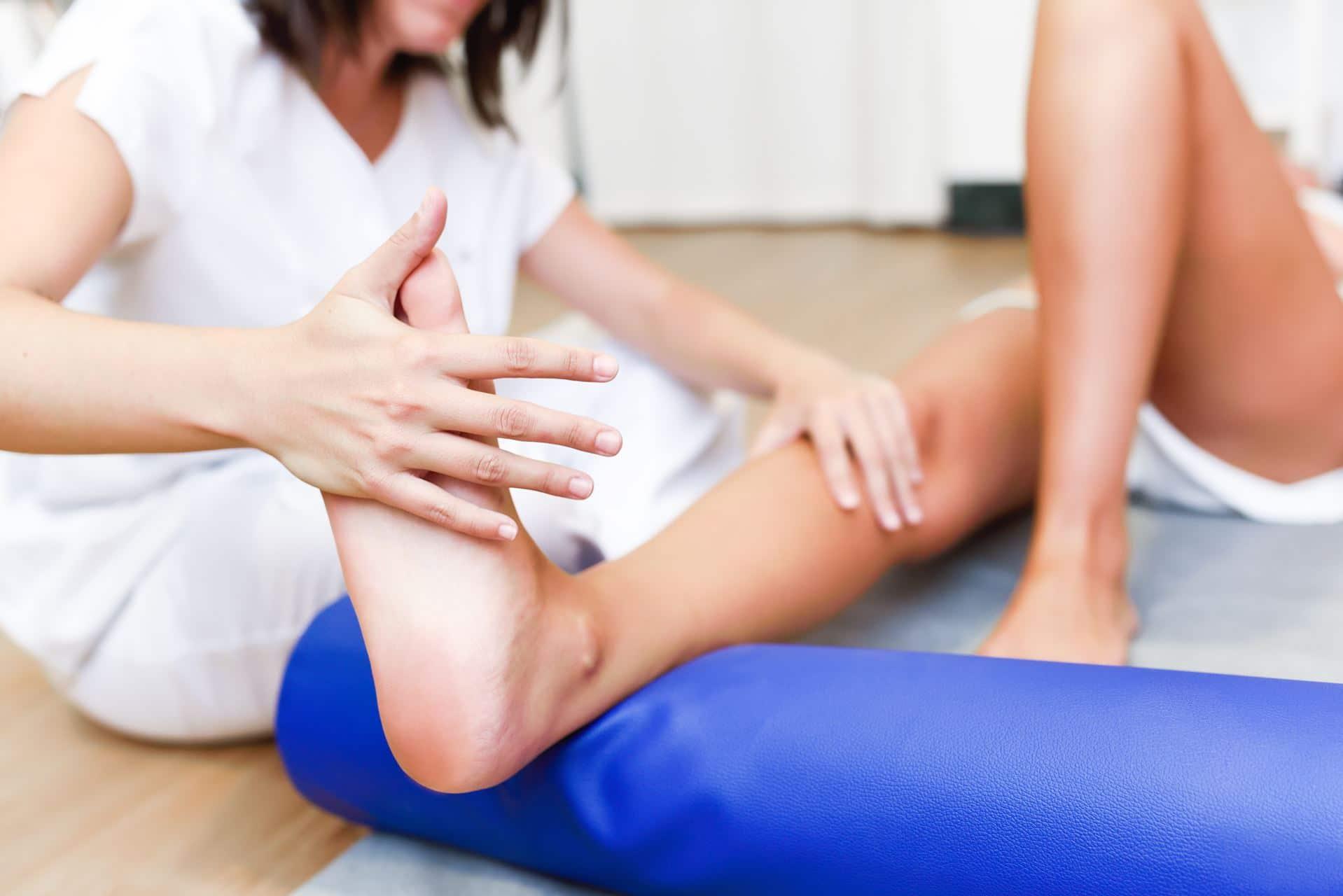 פיזיותרפיה לקרסול - Restart Therapy מומחים בשיקום פרטי בבית הלקוח